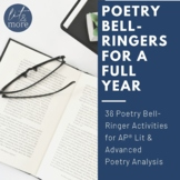 Poetry Bell-Ringers for a Full Year