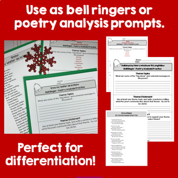 Poetry Bell Ringers for the Winter Season