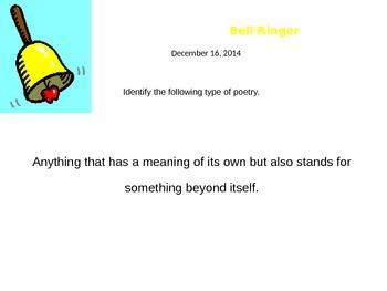 Poetry Bellringers