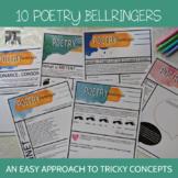 Poetry Bellringers: Meter, Rhyme, Form, and More