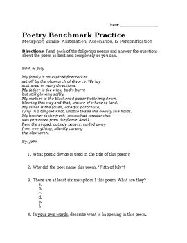 Poetry Benchmark Practice