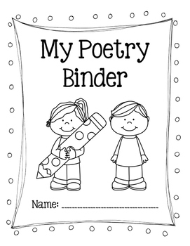 Poetry Binder Cover