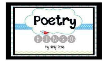Poetry Bingo