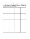 Poetry Bingo Activity