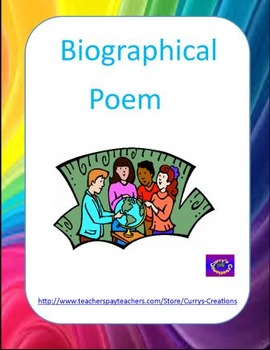 Poetry - Biographical Poem