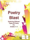 Poetry Blast for Grades 4 - 6