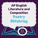 Poetry Blitzkrieg