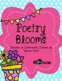 Poetry Blooms! Poetry Printables for Comprehending, Compar
