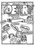 Poetry Book Activity Coloring Sheet