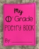 Poetry Book Cover {Grades K-6th}