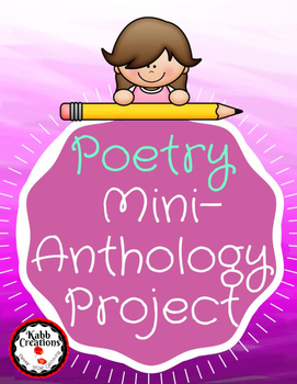 Poetry Book Mini Anthology Project UPDATED!!