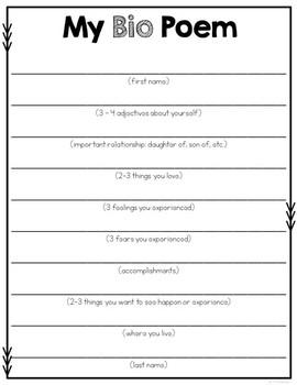 Poetry Book Template by Rachel K Resources | Teachers Pay Teachers