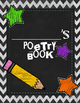 Poetry Book with Student Writing Templates and Examples