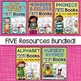 Poetry Books {The Bundle} - Nursery Rhymes, Alphabet, Numbers, Phonics, & More..