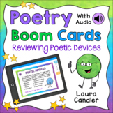 Poetry Boom Cards - Digital Task Cards for Distance Learning