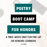 Poetry Boot Camp Unit
