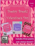 Poetry Break! - No Prep Valentine's Day Poetry Mini-Unit