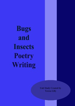 Poetry: Bugs and Insect Poetry Writing