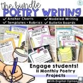 Bulletin Board Year Long Poetry Activities