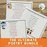 Partner Poems for Fluency Practice | Ultimate Poetry Bundle