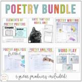 Poetry Bundle: Word Play, Poetry Journal, Poetry Posters,