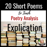 Poetry Bundle: 20 Short Poems to Teach Rhetorical Relation