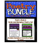 Poetry Bundle: Student Poetry Books & Simile and Metaphor Poems