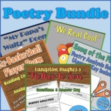 Poetry Bundle: 5 Engaging Poems with Questions, Answers Keys, & More!