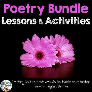 Poetry Activities Bundle