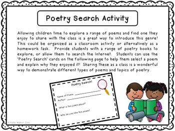 Poetry Bundle Freebie!  Alliteration, Diamante Poem and Introductory Activities!