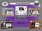Poetry Bundle Modernist Poetry Poem Analysis Collection