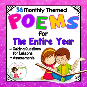 Poetry Reading Comprehension Questions for the Whole Year