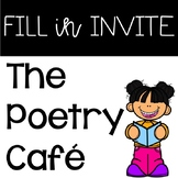Poetry Cafe Invitation