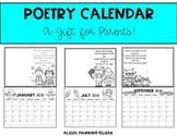 Poetry Calendar (A Gift for Parents)