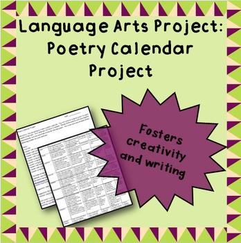 Poetry Calendar Project