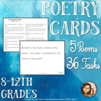 Poetry Cards
