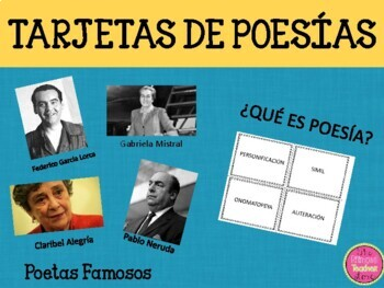 Poetry Cards in Spanish