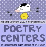 Poetry Center Bundle for HMH Kindergarten National Journeys 2017