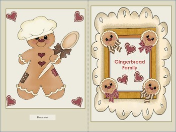 """ESL Activity: Vocabulary/Literacy Skills """"The Gingerbread Family""""+ELL Newcomers"""