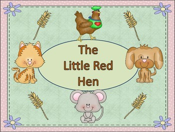 """ESL Activity: Vocabulary/Literacy Skills """"The Little Red Hen"""" ELL Newcomers Too"""