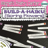 Poetry Center: Magnetic Build a Haiku (Spring Flowers)