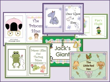 ESL Activities Fairy Tales Vocabulary + Basic Literacy Skills- ELL Newcomers Too