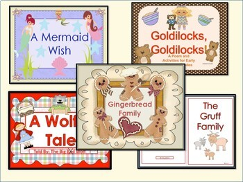 ESL Activities Fairy Tales- Vocabulary/Basic Literacy Skills + ELL Newcomers Too