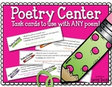 Poetry Center Task Cards
