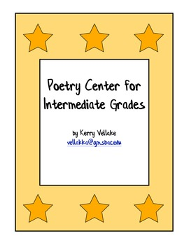 Poetry Center for Intermediate Grades