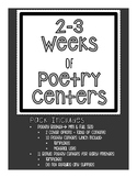 Poetry Centers + Booklet