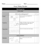 Poetry Checklist/Rubric Inspired by Writer's Workshop
