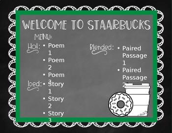 Poetry Classroom Cafe - STAARBUCKS/STARBOOKS