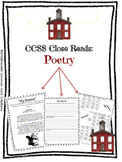 Poetry Close Read 5 Day CCSS