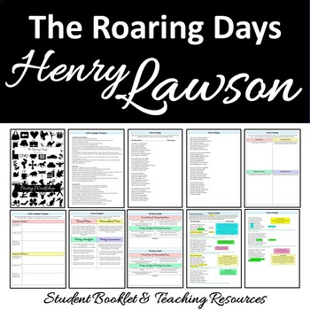 Poetry Close Reading THE ROARING DAYS Henry Lawson